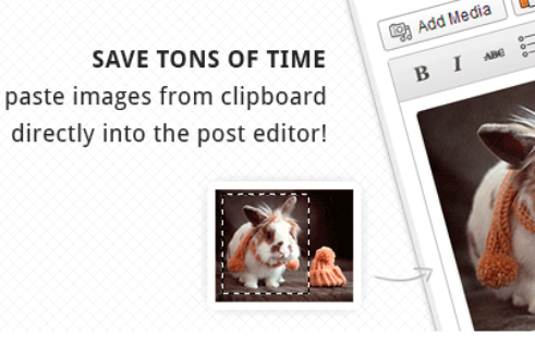 《OnePress Image Elevator 直接粘贴图片到wordpress编辑器插件》
